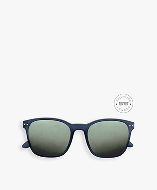 IZIPIZI Sun Nautic Polarized Sunglasses - Night Blue/Green Lenses