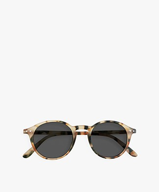 IZIPIZI SUN #D Sunglasses - Light Tortoise/Grey Lenses