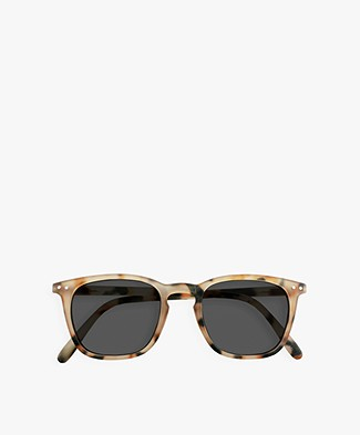 IZIPIZI SUN #E Sunglasses - Light Tortoise/Grey Lenses
