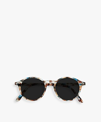 IZIPIZI SUN READING #D Reading Sunglasses - Blue Tortoise/Grey Lenses