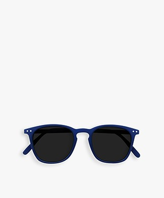 IZIPIZI SUN #E Sunglasses - Navy Blue/Grey Lenses