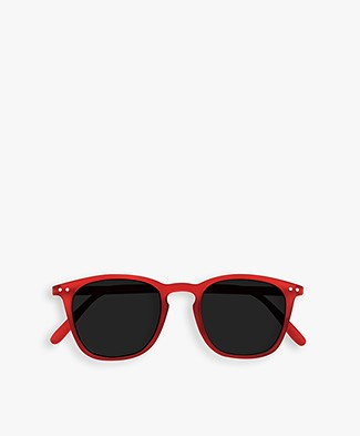 IZIPIZI SUN #E Sunglasses - Red Crystal/Grey Lenses