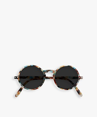 IZIPIZI SUN #G Sunglasses - Blue Tortoise/Grey Lenses