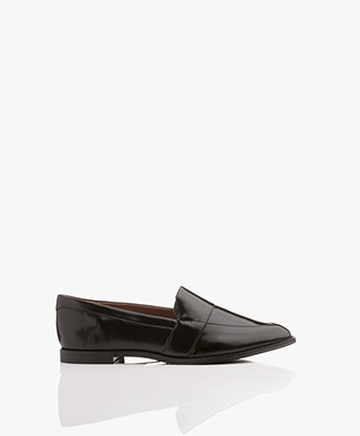 Matt & Nat Izabel Lak Loafers - Zwart