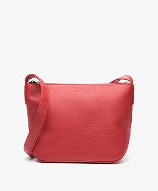 Matt & Nat Sam Large Dwell Cross-body Tas - Ruby