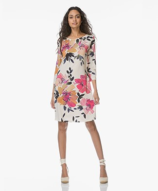 no man's land Bloemenprint Jurk - Jasmin