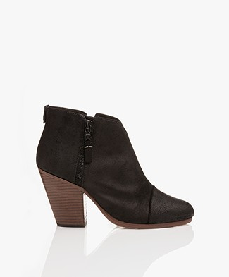 Rag & Bone Margot Leather Ankle Boots - Black