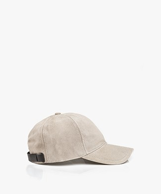 Rag & Bone Marilyn Baseball Suede Cap - Grey