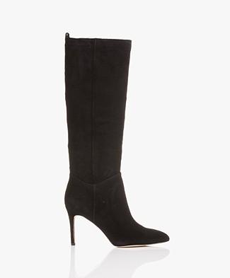 Sam Edelman Olen Suede Boots - Black