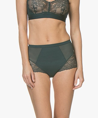 SPANX® Spotlight on Lace Brief - Malachite