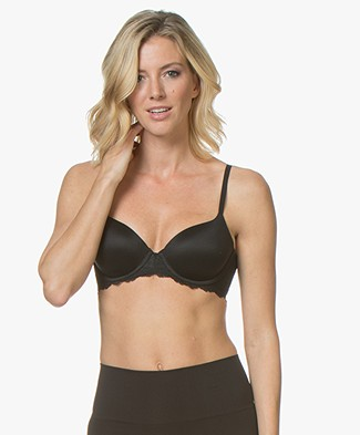 SPANX® Undie Tectable Demi Bra - Very Black