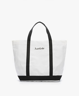 Vanessa Bruno Aartiste Canvast Shopper - White