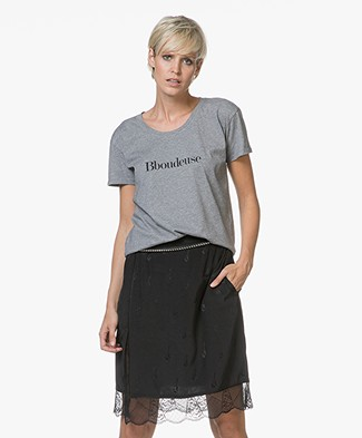 Vanessa Bruno Bboudeuse T-Shirt - Grey Melange