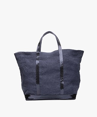 Vanessa Bruno Cabas Moyen Shopper - Denim