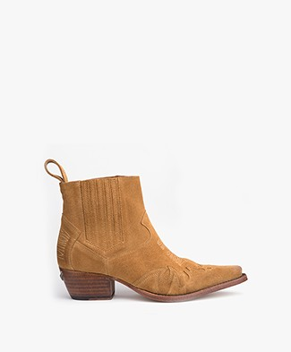 Zadig & Voltaire Erin Cut Boots - Camel