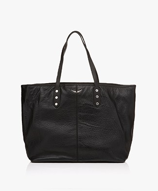 Zadig & Voltaire Mick Shopper - Black