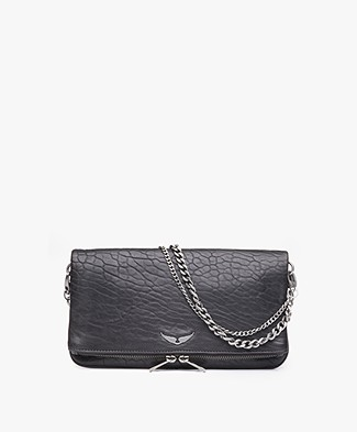 Zadig & Voltaire Rock Bubble Shoulder Bag/Clutch - Black