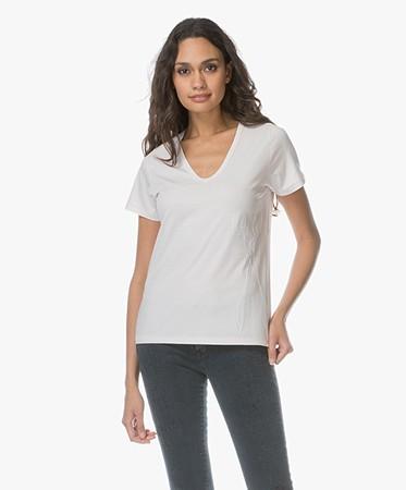 Royal Linnenmix T-shirt • Sweet Pink