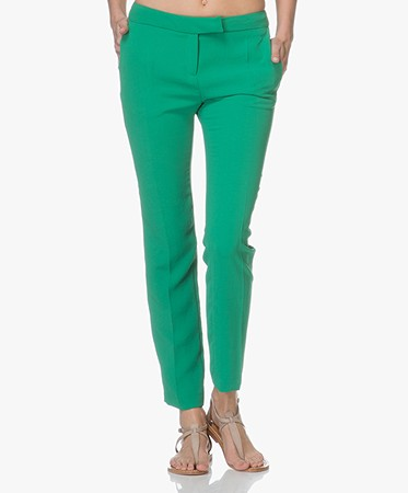 ba&sh - ba&sh Steady Crêpe Pantalon - Groen
