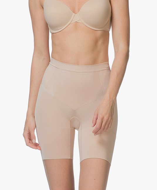 2a582e87ce SPANX® OnCore Mid-Thigh Short - Soft Nude - ss6615 2119 soft