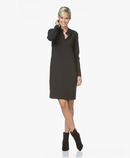 Josephine Co Robby Travel Jersey Dress Black Robby Dress