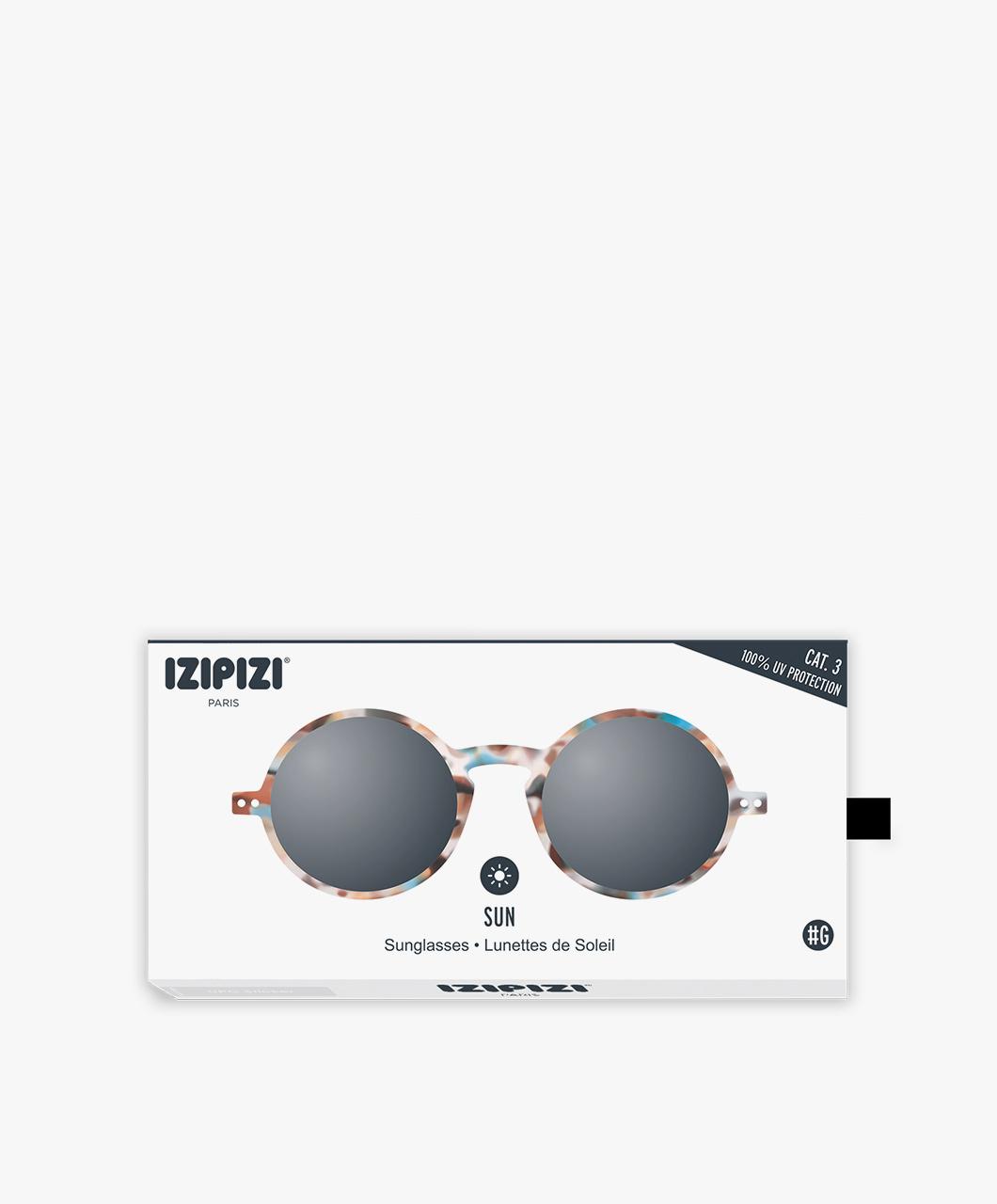 af1ea09fdf IZIPIZI SUN #G Sunglasses - Blue Tortoise/Grey Lenses - sun #g tortoise  lenses