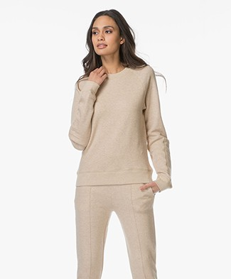 Joseph Molleton French Terry Sweatshirt - Beige Mêlee