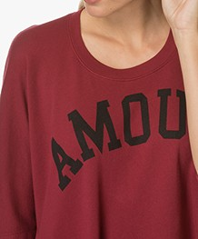 Zadig et Voltaire Portland Overdyed T-shirt - Grenat