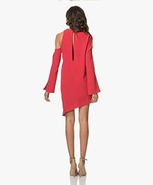 IRO Awati Asymmetrische Mini-jurk - Poppy Red