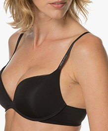 Calvin Klein Sculpted Push-Up BH - Zwart