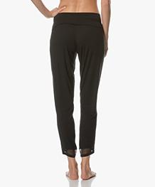 Calvin Klein Pyjamabroek in Modal Jersey - Zwart