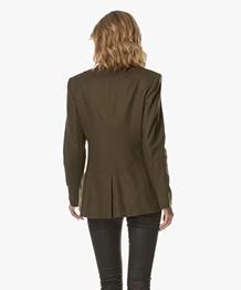 Rag & Bone Duke Tailored Blazer - Olive