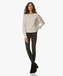 Rag & Bone High Rise Skinny Jeans - Washed Black