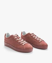 Rag & Bone RB1 Low Sneakers - Mauve Suède