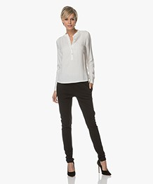 BY-BAR Mao Viscose Blouse - Off-white
