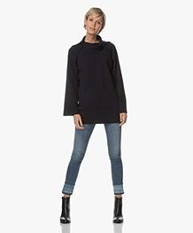 Marie Sixtine Chris Wool Blend Sweater - Sailor