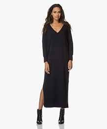 Marie Sixtine Chris Knitted Dress - Blue
