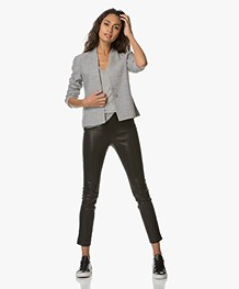 Filippa K Erin Jersey Jacket - Grey Melange