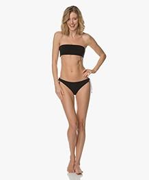 Filippa K Soft Sport Bandeau Bikinitop - Zwart