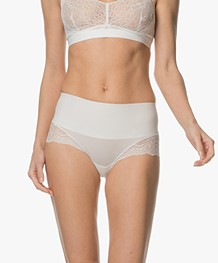 SPANX® Undie-tectable Lace Hi-Hipster - Powder