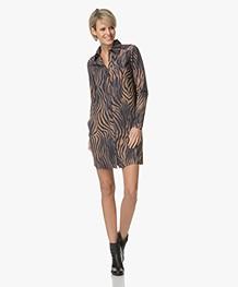 JapanTKY Lyni Shirt Dress with Print - Animal