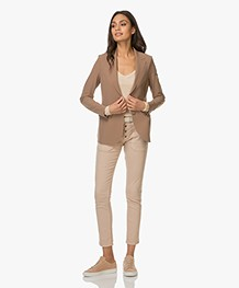JapanTKY Makia Tailored Blazer - Camel