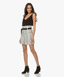 Vanessa Bruno Ilora Wrap Skirt - Off-white/Black