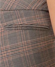 ba&sh Gody Geruite Pantalon - Carbone