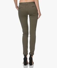 ba&sh Chiapas Straight Jeans - Kaki