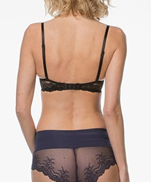 SPANX® Undie-tectable Lace Hi-Hipster - Midnight Navy