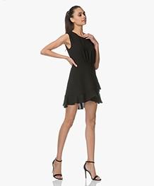 IRO Arcas Fit & Flare Mini-jurk - Zwart