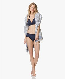 Calvin Klein Classic Foldover Bikinislip - Deep Indigo