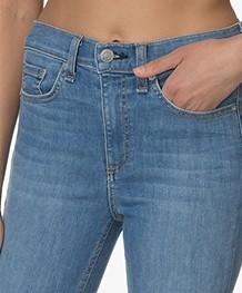Rag & Bone High Rise Skinny Jeans - Alibi