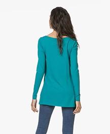 Kyra & Ko Rana Lang Jersey Longsleeve T-shirt - Turquoise